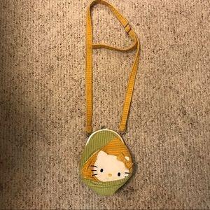 Small Sanrio Hello Kitty Corduroy Shoulder Bag